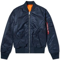 Alpha Industries Classic Ma 1 Jacket Blue