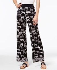 Inc International Concepts Tiger Print Palazzo Pants Only At Macy's Striped Tiger