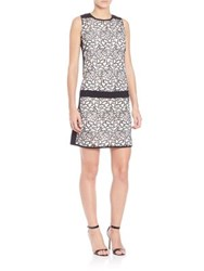 Laundry By Shelli Segal Sleeveless Drop Waist Dress Warm White