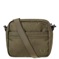 Fred Perry Tonal Tipped Side Bag Green