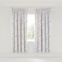 Sanderson Tuileries Lined Curtains 168X183cm Linen Grey