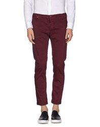 Up Date Trousers Casual Trousers Men Maroon