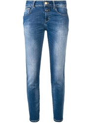 Closed Stonewashed Slim Jeans Blue