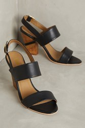Anthropologie Nina Payne Elena Slingbacks Black