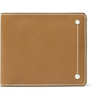 Connolly Hex Leather Billfold Wallet Tan