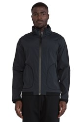 Reigning Champ Stow Away Hood Jacket Black