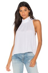 Free People Palm Breeze Halter Top White