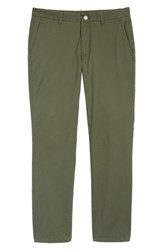 Bonobos Big And Tall Tailored Fit Washed Stretch Cotton Chinos Duffle Green
