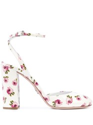 Prada Rose Print Pumps 60