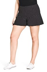 City Chic Plus Size Women's Fantasy Layer Shorts Spot