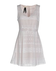 Toy G. Short Dresses White