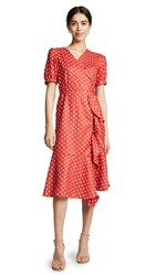Stylekeepers The Breezy Dress Red Polka Dots