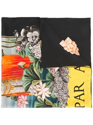 Gucci Water Lilies Print Scarf