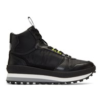 Givenchy Black Tr3 Runner High Top Sneakers
