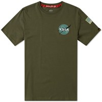 Alpha Industries Space Shuttle Tee Green