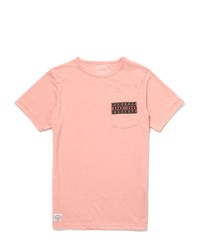 The Native Youth T Shirt With Aztec Tape Pink