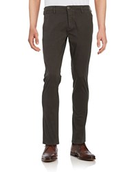 Selected Cotton Chinos Phantom Grey