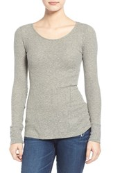 Junior Women's Bp. Thermal Knit Pullover