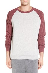 Alternative Apparel Men's 'The Champ' Trim Fit Colorblock Sweatshirt