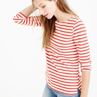 J.Crew Pre Order Striped Boatneck T Shirt