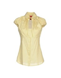 Michelle Windheuser Shirts Light Yellow