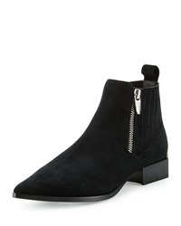 Sigerson Morrison Bambi Side Zip Ankle Boot Black