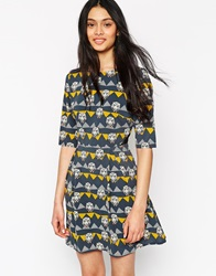 Sugarhill Boutique Party Tiger Dress Multi
