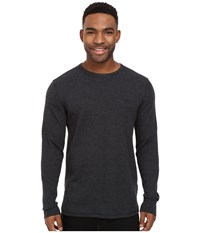 Billabong Essential Thermal Black Heather Men's Long Sleeve Pullover