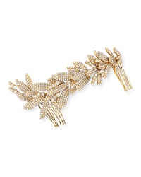 Jennifer Behr Crystal Double Hair Comb Barrette