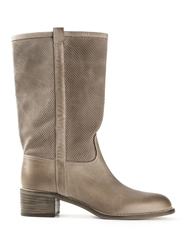Sartore High Boot Nude And Neutrals