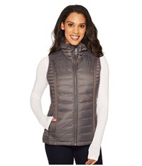 Kuhl Spyfire Hooded Vest Carbon Women's Vest Gray