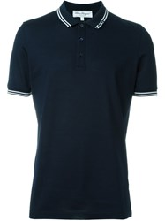 Salvatore Ferragamo Classic Polo Shirt Blue