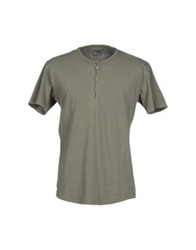 Tredici D13 T Shirts Military Green