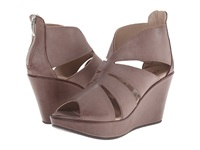 Cordani Rollins Brown Distressed Leather Women's Wedge Shoes