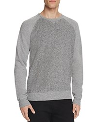 Velvet Klaus Color Block Sweatshirt Heather