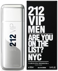 212 Vip By Carolina Herrera For Men Eau De Toilette 3.4 Oz No Color