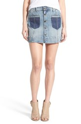 Joe's Jeans Women's Joe's 'Collector's Pixie' Denim Skirt Rina