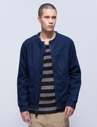 Publish Adriano Denim Bomber Jacket
