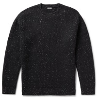 Steven Alan Slub Wool Sweater Black