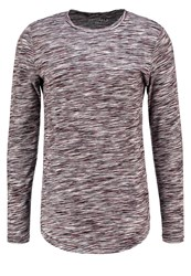 Jack And Jones Jorbask Slim Fit Long Sleeved Top Black