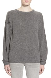 Earnest Sewn 'Dylan' Cashmere Boyfriend Sweater Grey