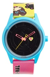Harajuku Lovers Resin Solar Watch 40Mm Limited Edition So Emoji Nal