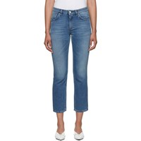 Toteme Blue Straight Jeans