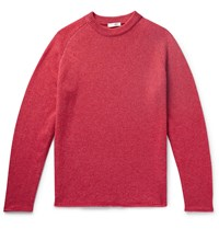 The Row Ulmer Cashmere Sweater Red