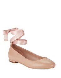 424 Fifth Penelope Leather Ballet Flats Ballerina