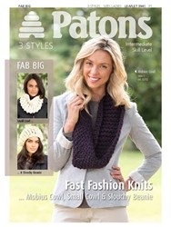 Patons Cowls And Slouchy Beanie Knitting Pattern 03939