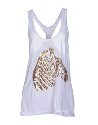 Milly Cabana Topwear Tops Women Gold