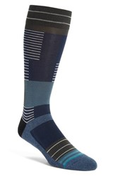 Stance Men's 'Wanderer' Crew Socks Navy