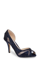 Paradox London Pink Catrina D'orsay Pump Navy