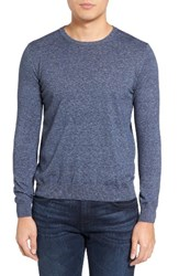 Sand Men's Lightweight Cotton Sweater Indigo